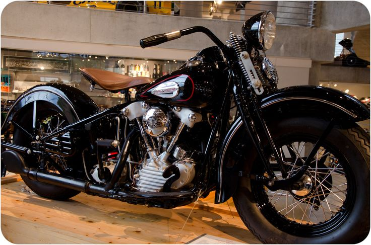 1940 Knucklehead - perhaps my favorite Harley-Davidson at Barber Vintage Motorsports Museum