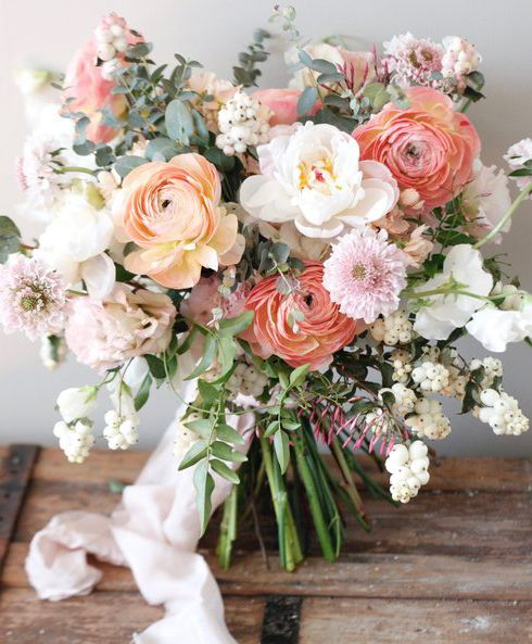 Flower Wedding Bouquet Idea: SWOON! This Bouquet From @twillowweddings Has Us Tickled