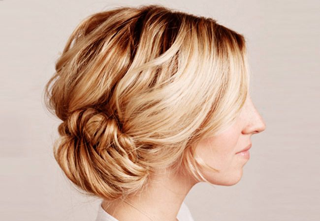 10 Beautiful Updos with Braids - The Knot Blog