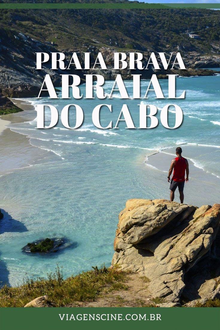 Praia Brava: Paraíso escondido em Arraial do Cabo, litoral do Rio de Janeiro. Saiba como chegar na Praia Brava, no Pontal do Atalaia