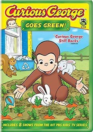 Frank Welker & Jeff Bennett - Curious George Goes Green