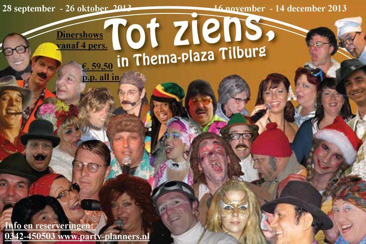 http://www.party-planners.nl Gezellige all inclusive feesten in Brabant, Tilburg. Themafeesten, dinershows en spelshows.