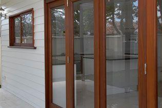 Trojan Timbers - 4 door single light bifold system  #door #timber #timberdoors #bifolddoors #homedecor #decor