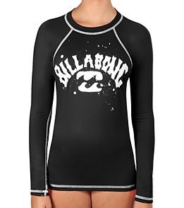 Billabong Girls' Telly L/S Rash Guard $33.00
