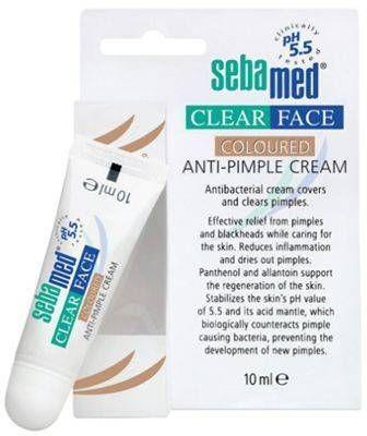 Sebamed Clear Face Coloured Anti-Pimple Cream 10 ml - Renkli Sivilce Kapatıcı Krem  Cildinizdeki oluşan lekeler, siyah noktalar ve sivilcelerin kapatılmasında kullanabileceğiniz renkli kapatıcı  16.80 TL olan ürünümüz şimdi %20 İNDİRİMLE 13.44 TL !