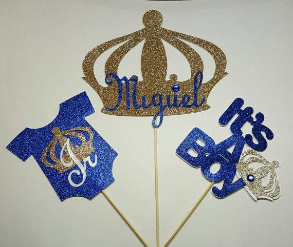 Prince centerpiece royal centerpiece little by fourDOLLYSboutique