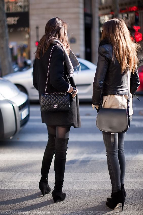 Chanel on the street