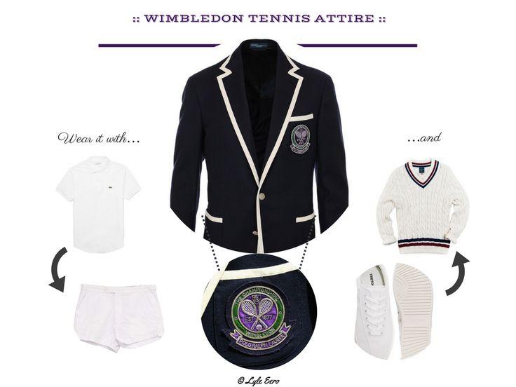 WImbledon: A Gentleman's Style & Occasion Guide - M | E