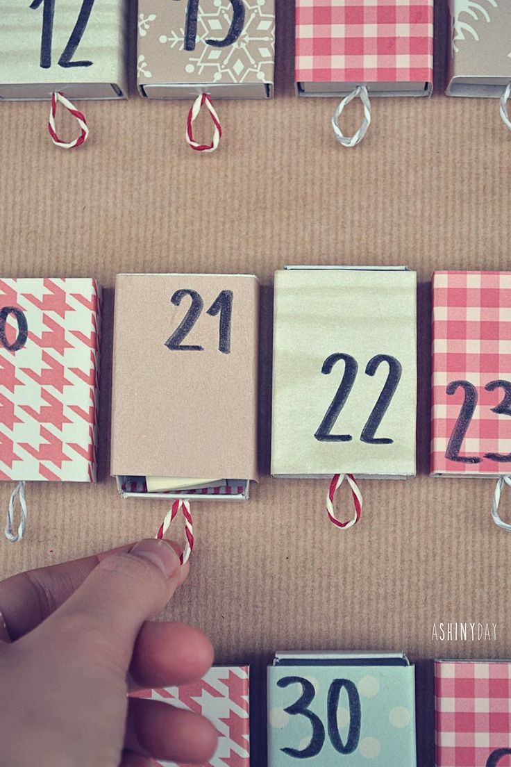Adventure Calendar by A Shiny Day! The perfect christmast gift! Really fun!