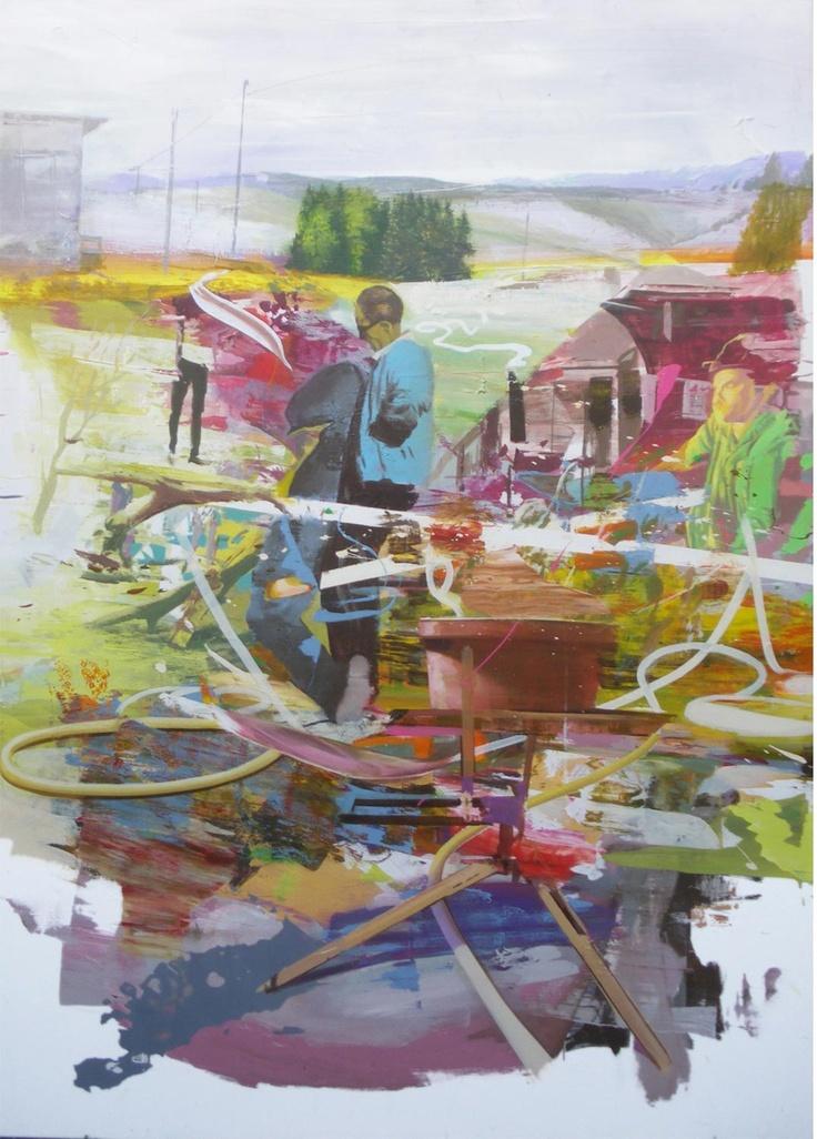http://www.boumbang.com/giuseppe-gonella/ © Giuseppe Gonella, MeSH D013969, acrylic on canvas, 200 x 150 cm, 2011