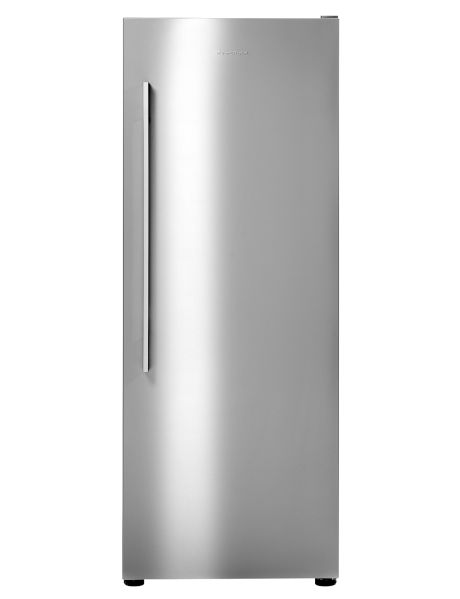Busy families and those who enjoy entertaining at home will appreciate the style and convenience of this Fisher & Paykel vertical refrigerator.