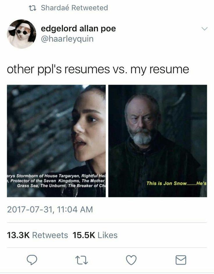 Game of thrones season 7 funny humour meme. Ser Davos Seaworth, Jon Snow