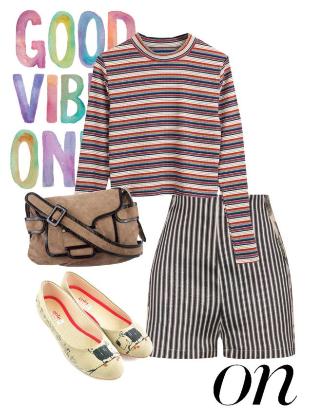 """""""stripe"""" by masayuki4499 ❤ liked on Polyvore featuring La Perla, Pierre Hardy, Goby, stripesonstripes and PatternChallenge"""