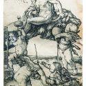 アルブレヒト・デューラー≪空を飛ぶ魔女≫1500-1503年 ローテンブルク中世犯罪博物館(ドイツ) ©Mittelalterliches Kriminalmuseum in Rothenburg ob der Tauber (Germany)