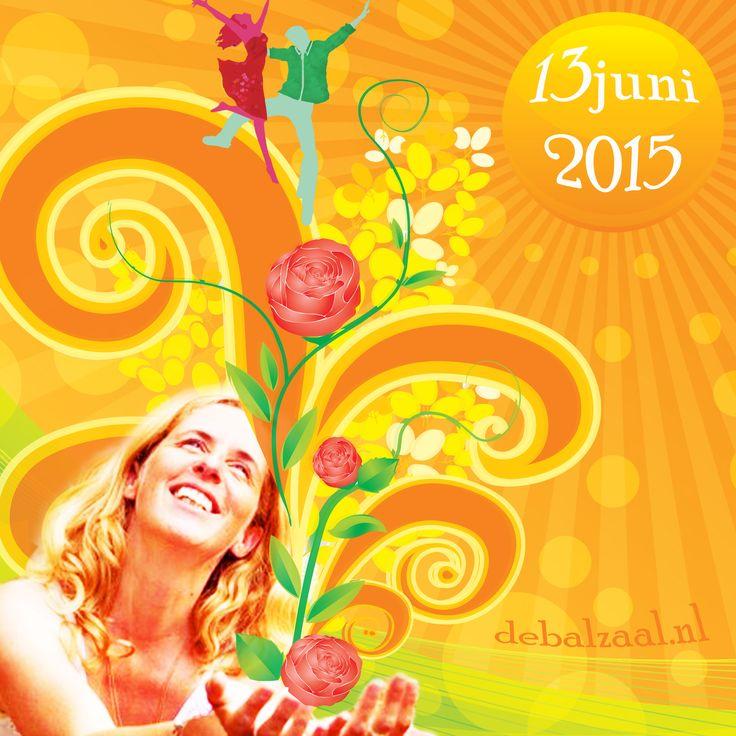 13 juni 2015 Biodanza Zomerbal met Lyan Nog één weekje en het is officieel zomer! Deze avond zul je de zon volop ervaren in De Balzaal. Lyan neemt je mee in een heerlijke hartverwarmende vivencia. Laaf je aan haar sprankelende en innemende uitstraling en je wordt vanzelf ook een zonnetje in huis!  20u00 (inloop 19.30 uur – 22u00 Biodanza workshop door Lyan van de Meulen 22u00 – ca.24u15 swingen en chillen met DJ Ybbor.  Entree: € 15,- voor de hele avond