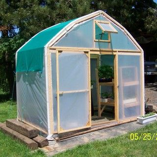 A collection of DIY greenhouses