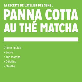 16 - Panna cotta au thé matcha