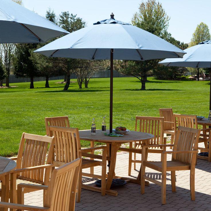 75ft sunbrella commercial grade aluminum wind resistant patio umbrella offset patio