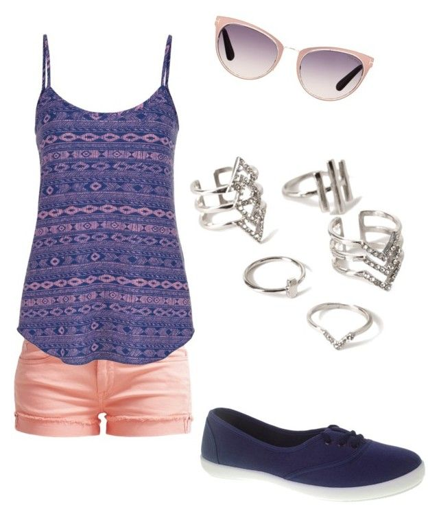 summer/spring by tayken3 on Polyvore featuring polyvore fashion style maurices Le Temps Des Cerises Chinese Laundry Forever 21 Tom Ford clothing