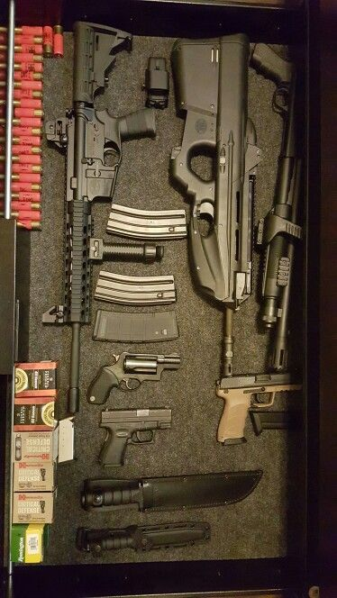 AR, FN2000, Mossberg Chainsaw, H &K .45 Tactical, Taurus Public Defender, Springfield XD .40 Subcompact