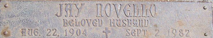 Jay Novello (1904 - 1982) - Find A Grave Memorial
