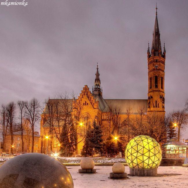 Solar System Fountain, Tarnow, Poland