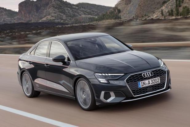 سيارة أودي A3 2021 تصل بتصميم جديد جريء In 2020 Audi A3 Sedan Audi A3 Audi