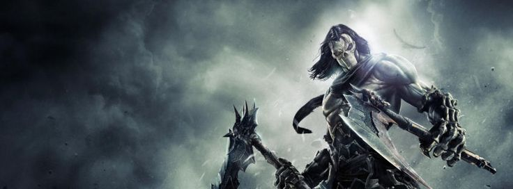 Death darksiders 2 game facebook cover