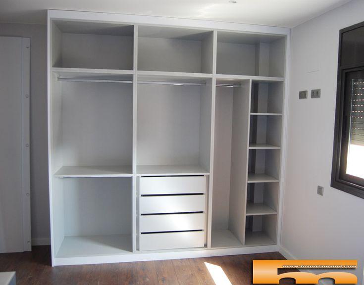 Las 25 mejores ideas sobre armarios a medida en pinterest for Roperos para dormitorios en melamina