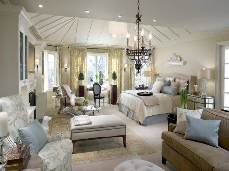 Beautiful master bedroom la casa pinterest for Gorgeous master bedrooms