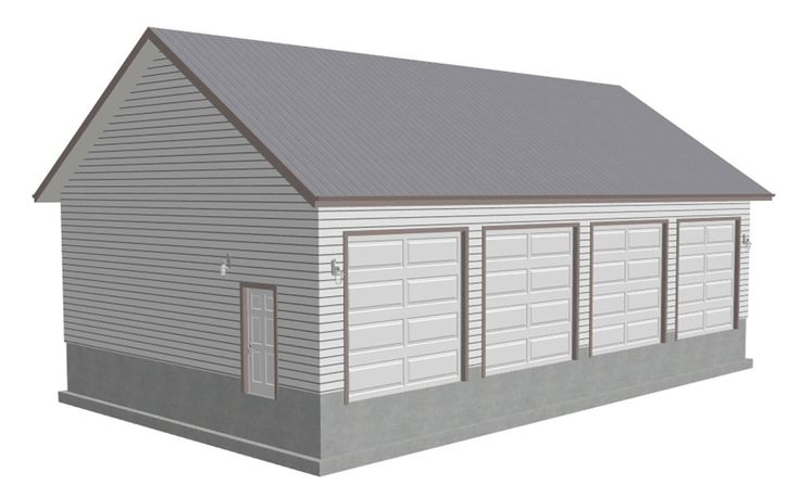 Detached garage plans free download woodworking projects for Free garage plans online