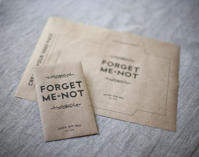 Seed packet favors, printable envelopes - easy to do in advance. Use seeds from our wedding flowers??
