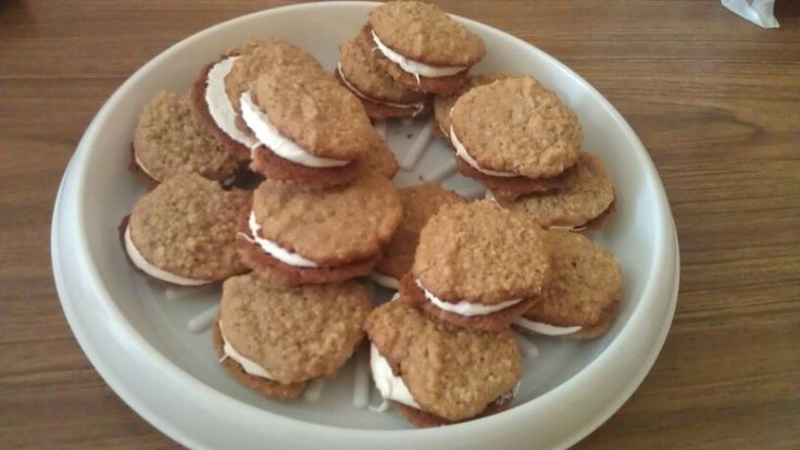 Oatmeal Cream Sandwiches | My Food Creations | Pinterest | Oatmeal ...