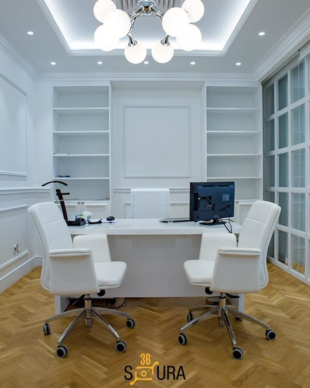 Home Officeinterior Design Ideas: White Is Associated With Purity As The Entire Spectrum Is