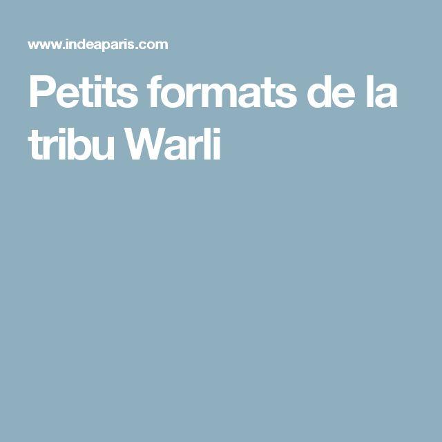 Petits formats de la tribu Warli