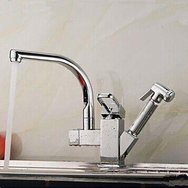 Pull contemporanea rubinetto della cucina cromato