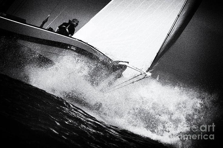 Skutsje In Strong Winds Photograph by Jan Brons. FKS Skûtsje wedstrijd op het Ijsselmeer. Stevige wind zorgt voor een spectaculair beeld. Zwart Wit Foto. A skûtsje lists heavy over starboard and some crew members are standing in the water. Traditional sailing ship race held in Holland with 14 Skûtsjes. Wiki:It skûtsjesilen is it hurdsilen mei skûtsjes, spesjaal de wedstriden dy't útskreaun wurde troch de SKS en de IFKS.
