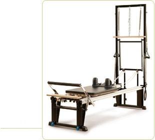 STOTT Pilates Reformer! Love this machine.