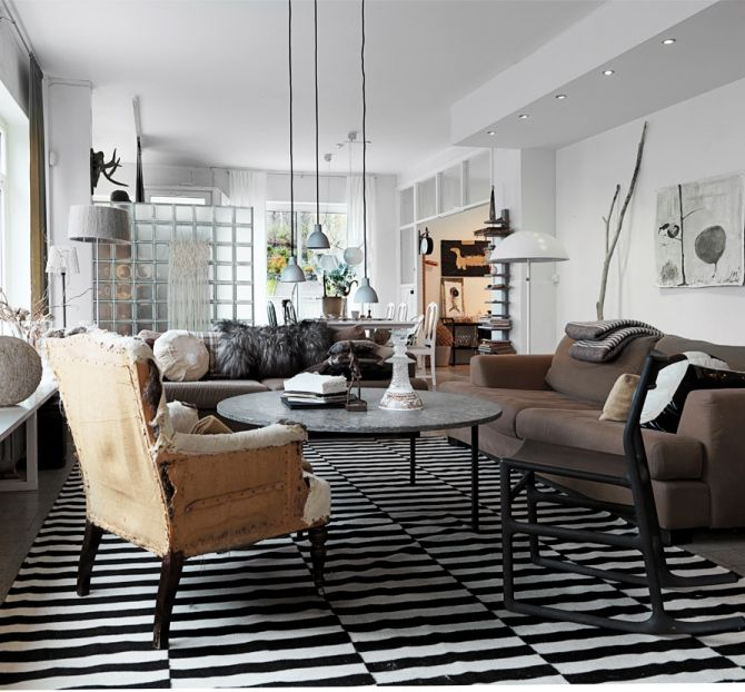 22 best for my dining room designs images on pinterest for Modern eclectic living room
