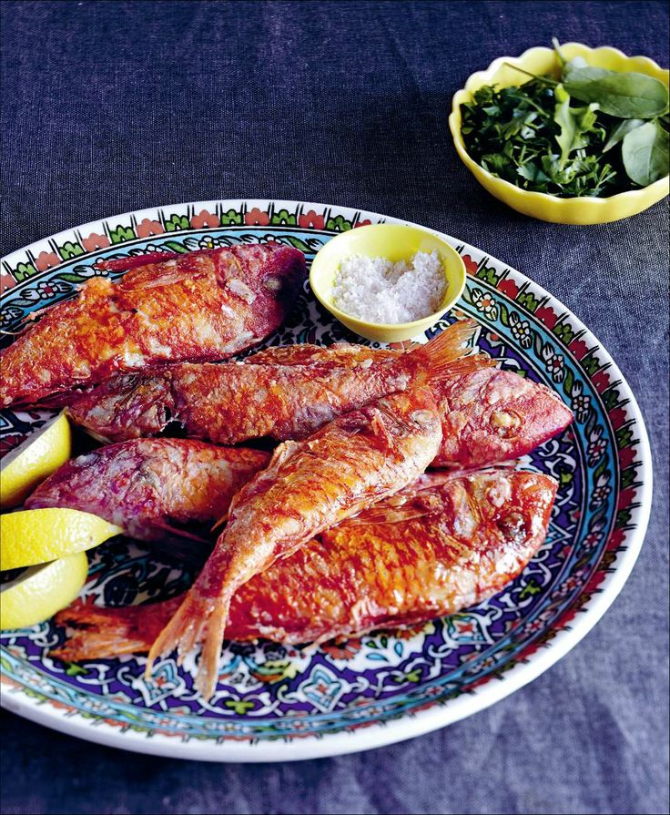 Fried red mullet by Sevtap Yüce | Cooked