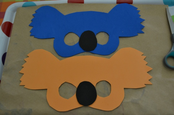 Koala foam mask craft