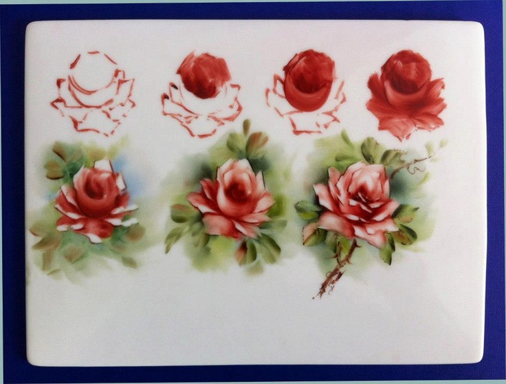 Brush stroke work - (decorative painting)