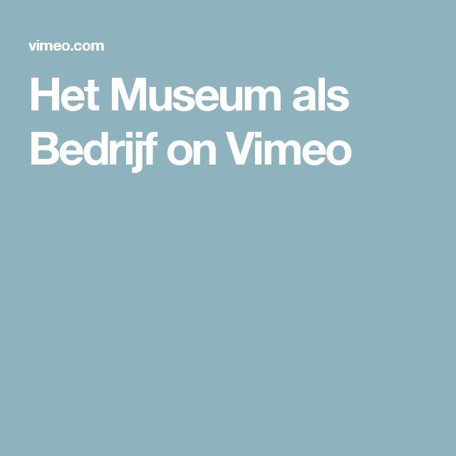 Het Museum als Bedrijf on Vimeo