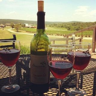 Chaumette Winery.  Ste. Genevieve, Missouri. Bachelorette weekend!