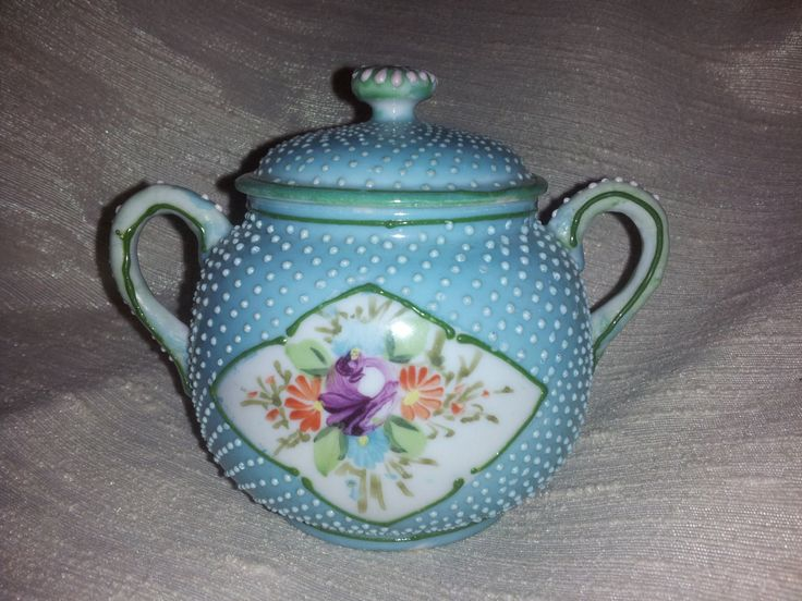 baby blue moriage sugar by jidesign on Etsy