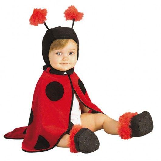 Lieveheersbeestje kostuum baby