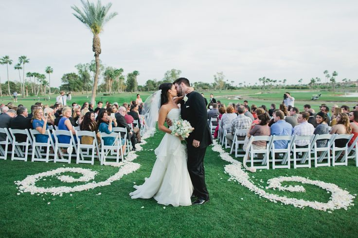 Venue: McCormick Ranch Golf Club ~ Scottsdale, Arizona // Photographer: Andrew Jade Photography // Florist: Table Tops, etc // Event Planner: Sara with Some Like it Classic // Baker: Oh My Goodness Cakes