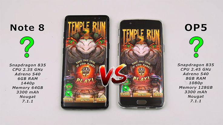 Samsung Note 8 vs OnePlus 5 Speed Test!