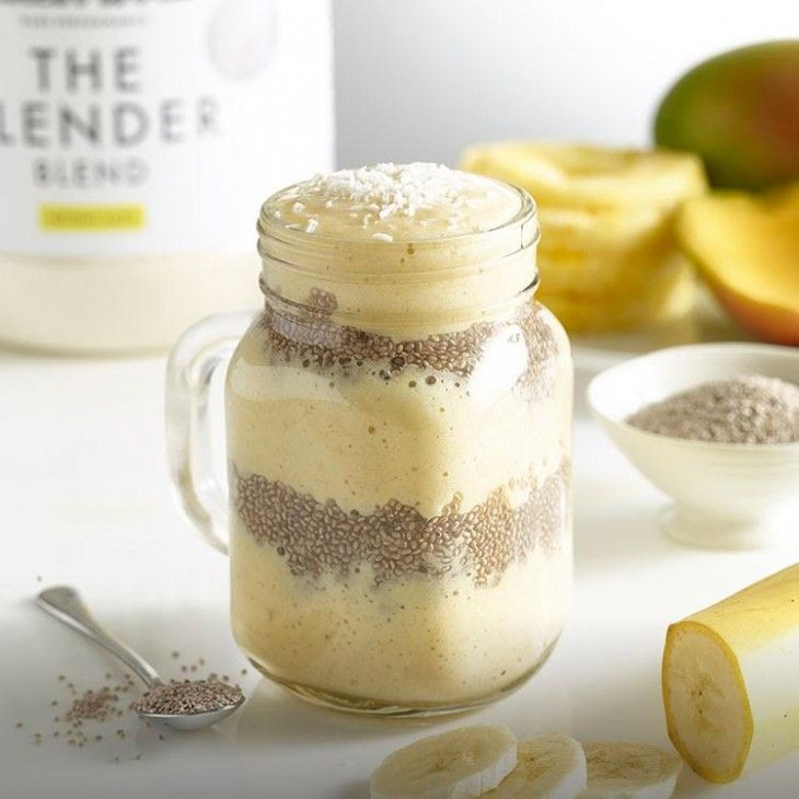 Slender Tropical Chia Seed Smoothie