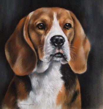 Dog Oil Painting Pet Portraits